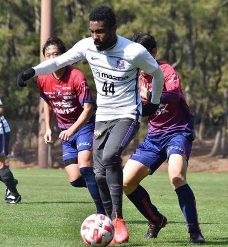 Rhayner é um dos destaques de seu time no Japão (Foto: Divulgação)