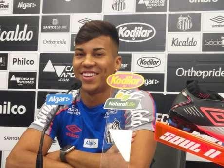 Kaio Jorge estreou como titular em 2020, sob o comando de Jesualdo Ferreira (Fábio Lázaro/LANCE!)