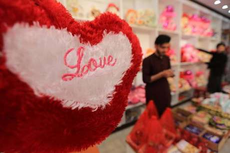 Valentine's Day em Peshawar, no Paquistão