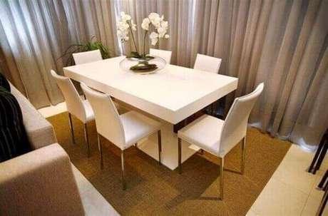 21- Como cuidar de orquídea na sala de jantar.