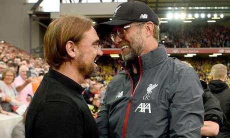 Liverpool e Norwich fazem duelo de opostos pelo Inglês (Foto: Reprodução/Liverpool)