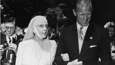Desde 1949, a princesa Alice não foi vista em roupas que não fossem o hábito de freira