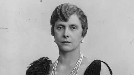 Alice de Battenberg ficou viúva no final de 1944