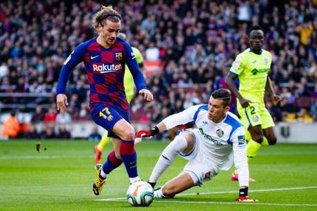 Griezmann marca, e Barcelona vence o Getafe pelo Espanhol (Foto: Reprodução / Twitter)