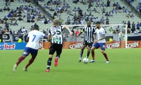 Ceará e Bahia ficaram no empate no Castelão (Foto: Reprodução)