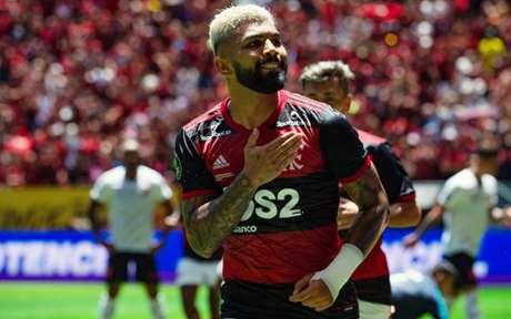 Gabigol tem média de um gol por jogo em 2020 (Foto: Alexandre Vidal / Flamengo)