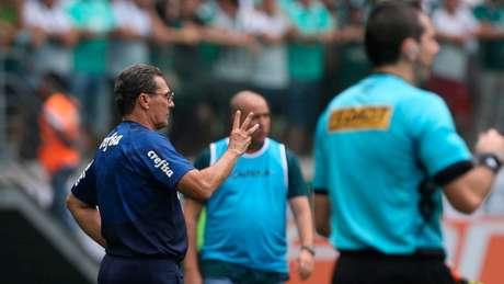 Luxemburgo destacou a força do elenco palmeirense, que venceu mesmo sem Dudu (Divulgação Flickr Palmeiras)