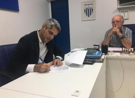 Rodrigo Santana é anunciado como novo comandante do Avaí (Foto: Divulgação/Avaí)