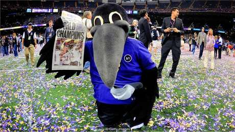 O time de futebol americano Baltimore Ravens foi batizado em homenagem a poema de Allan Poe, 'O Corvo'