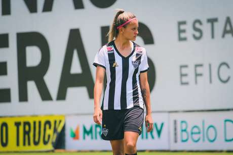 Vitória Calhau, zagueira do Atlético-MG com passagem pela base da seleção brasileira