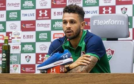 Wellington Nem atuou no Fluminense em 2019 (Foto: DANIEL PERPETUO / FLUMINENSE F.C.)