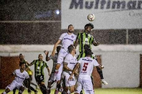 O Coelho vem de uma boa vitória sobre o o Villa Nova, de virada, na ultima rodada-(Divulgação/América-MG)