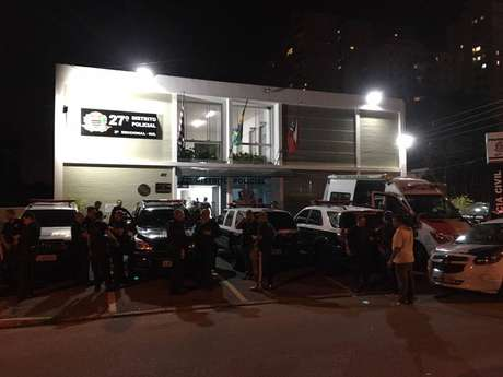 27º Distrito Policial (Campo Belo), onde o caso foi registrado.