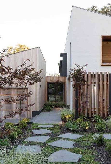jardim residencial simples Foto Pinterest