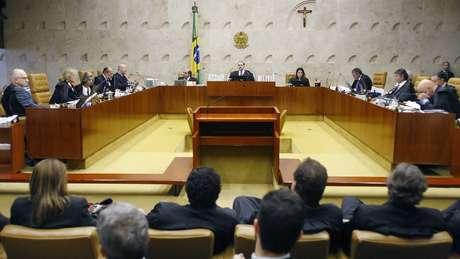 Plenário do Supremo Tribunal Federal.