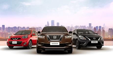 Kicks, March e Versa: esses são os veículos que iniciam o programa de locação da Nissan.