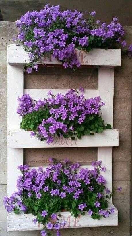29. Floreira para violetas – Via: Pinterest