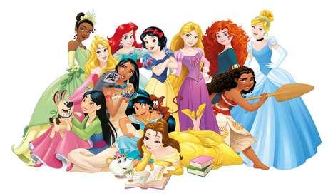 A Disney lançará 16 vestidos de noiva inspirados nas princesas da empresa