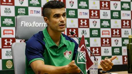 Egídio revelou o impacto que a eliminação na Sul-Americana causou no elenco do Fluminense (Foto: Divulgação/Lucas Merçon)