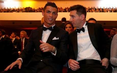Cristiano Ronaldo e Messi protagonizam grande disputa individual ao longo dos últimos anos (Foto: AFP)