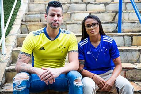 A torcida do Cruzeiro foi às compras e elevou a venda do material esportivo fornecido pela Adidas-(Divulgação/Adidas)