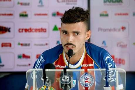 Zeca foi emprestado ao Bahia pelo Internacional nesta temporada (Foto: Felipe Oliveira/EC Bahia)