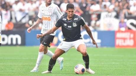 Com três gols em 2020, Raniel é desfalque do Peixe contra o Ituano neste sábado (Foto: Ivan Storti/Santos)