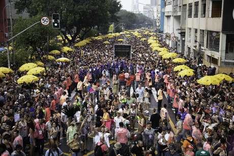 O Bloco Acadêmicos do Baixo Augusta já desfilou no pré-Carnaval de São Paulo de 2020 e levou cerca de 1 milhão de foliões para as ruas
