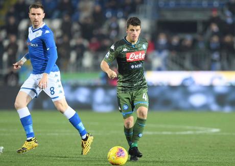 Napoli venceu o Brescia fora de casa (Foto: Divulgação/Napoli)