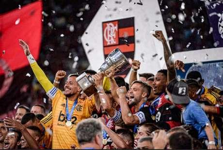 Flamengo foi campeão da Taça Guanabara após bater o Boavista (Foto: Marcelo Cortes / Flamengo)