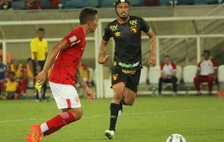 América-RN e Sport permaneceram no 1 a 1 na Arena das Dunas (Foto: Divulgação)