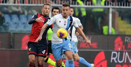 Vitória da Lazio impediu que a Juventus disparasse na liderança (Foto: Divulgação/Lazio)
