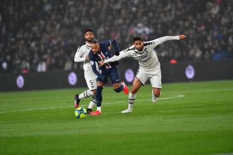 Neymar teve boa atuação, mas acabou expulso: (Foto: Reprodução/Site do PSG)