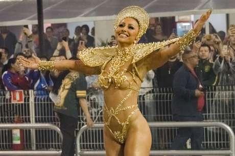 Sabrina Sato, destaque da Gaviões
