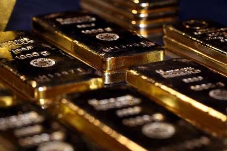 Imagem de barras de ouro em Munique, na Alemanha