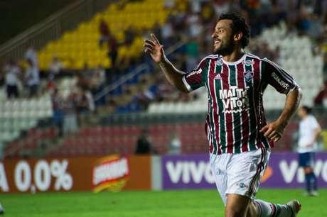 O Fluminense trata a contratação do atacante Fred com cautela (Foto: Divulgação/Kleber Andrade)