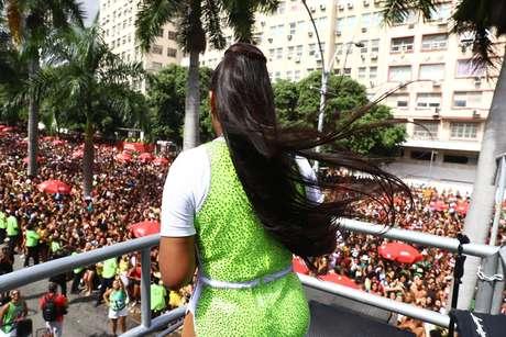 Ludmilla levanta Rio de Janeiro.