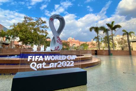 Faltam exatos mil dias para a Copa do Mundo (Foto: Divulgação/CAF)