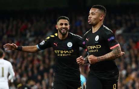 Gabriel Jesus marcou o gol de empate para o City.