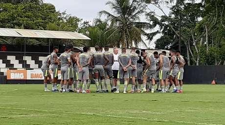Jogadores do Vasco tomaram atitude contra os constantes atrasos nos pagamentos (Rafael Ribeiro/Vasco)