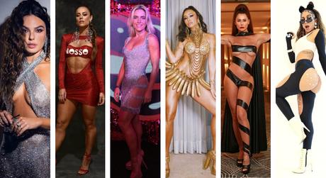 Fantasias sensuais para Carnaval (Fotos: Instagram/Reprodução)
