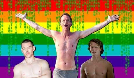 Brian J. Smith, Neil Patrick Harris e Jonathan Groff: não faltarão músculos torneados em Matrix 4