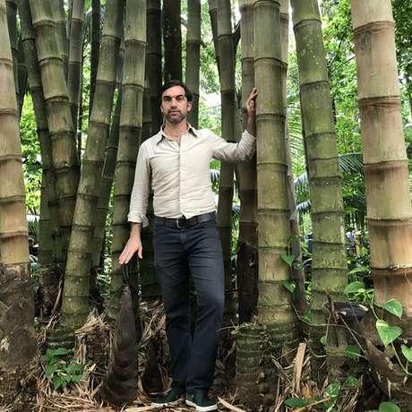 Pesquisador começou a estudar os microcanais dos bambus há 10 anos durante pós doutorado na China