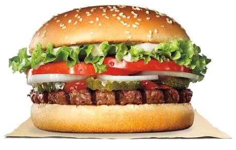 Hambúrguer do Rebel Whopper tem receita desenvolvida por algoritmo