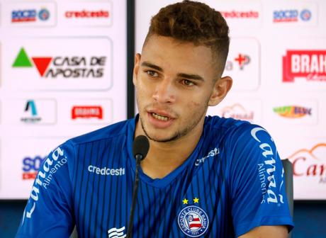 Edson fala sobre enfrentar o Vitória. Foto: Divulgação / Bahia