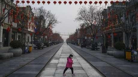 A desaceleração da economia chinesa como resultado do surto de coronavírus teve consequências ambientais positivas