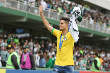 Yan Couto foi campeão mundial sub-17 com a seleção brasileira (Foto: Reprodução/Coritiba)