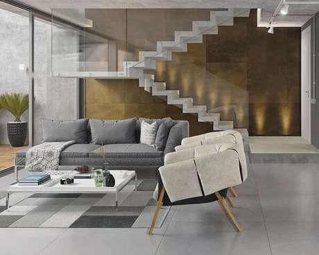 66. Porcelanato moderno para casa elegante – Via: Pinterest