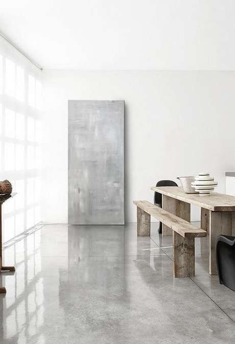 18. Porcelanato cinza brilhante na casa moderna – Via: Whagrate