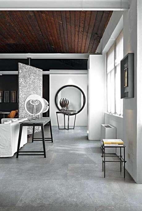 53. Porcelanato cinza para sala preto e branco – iva: Pinterest